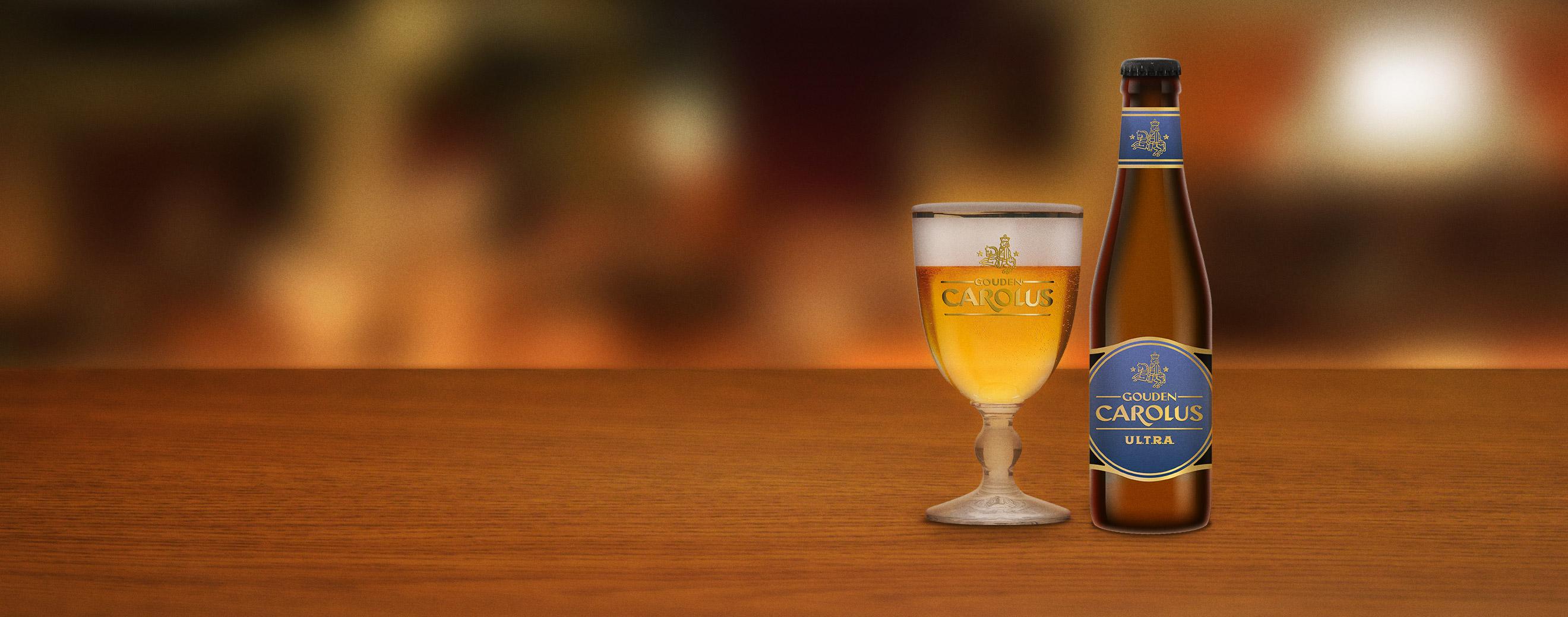Gouden Carolus UL.T.R.A. met glas