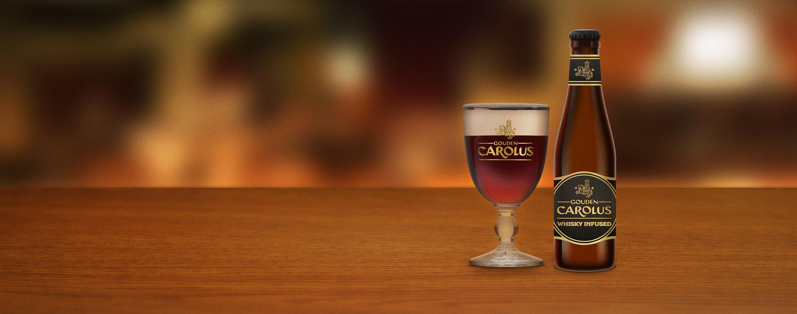 Gouden Carolus Cuvée van de Keizer Whisky Infused met glas