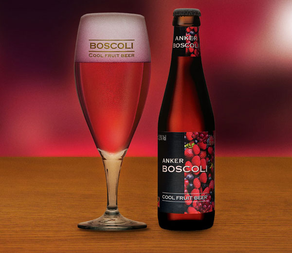 Boscoli met glas