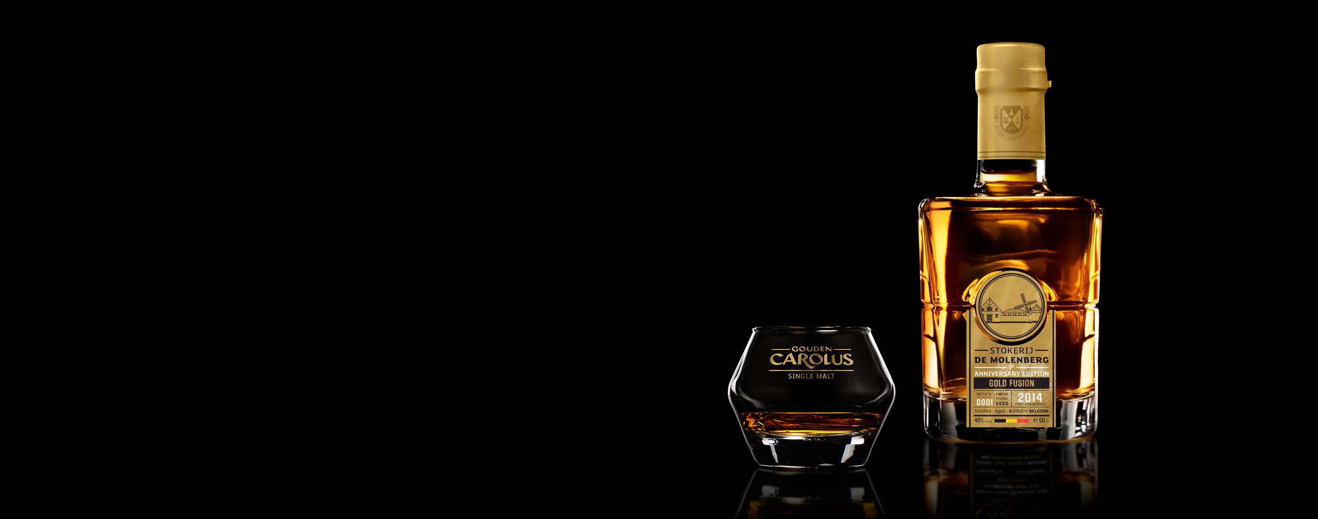Gold Fusion 2014 Whisky Stokerij De Molenberg