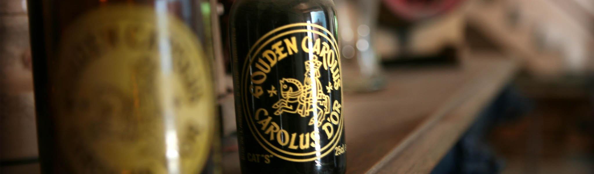 Flesje Gouden Carolus 1958