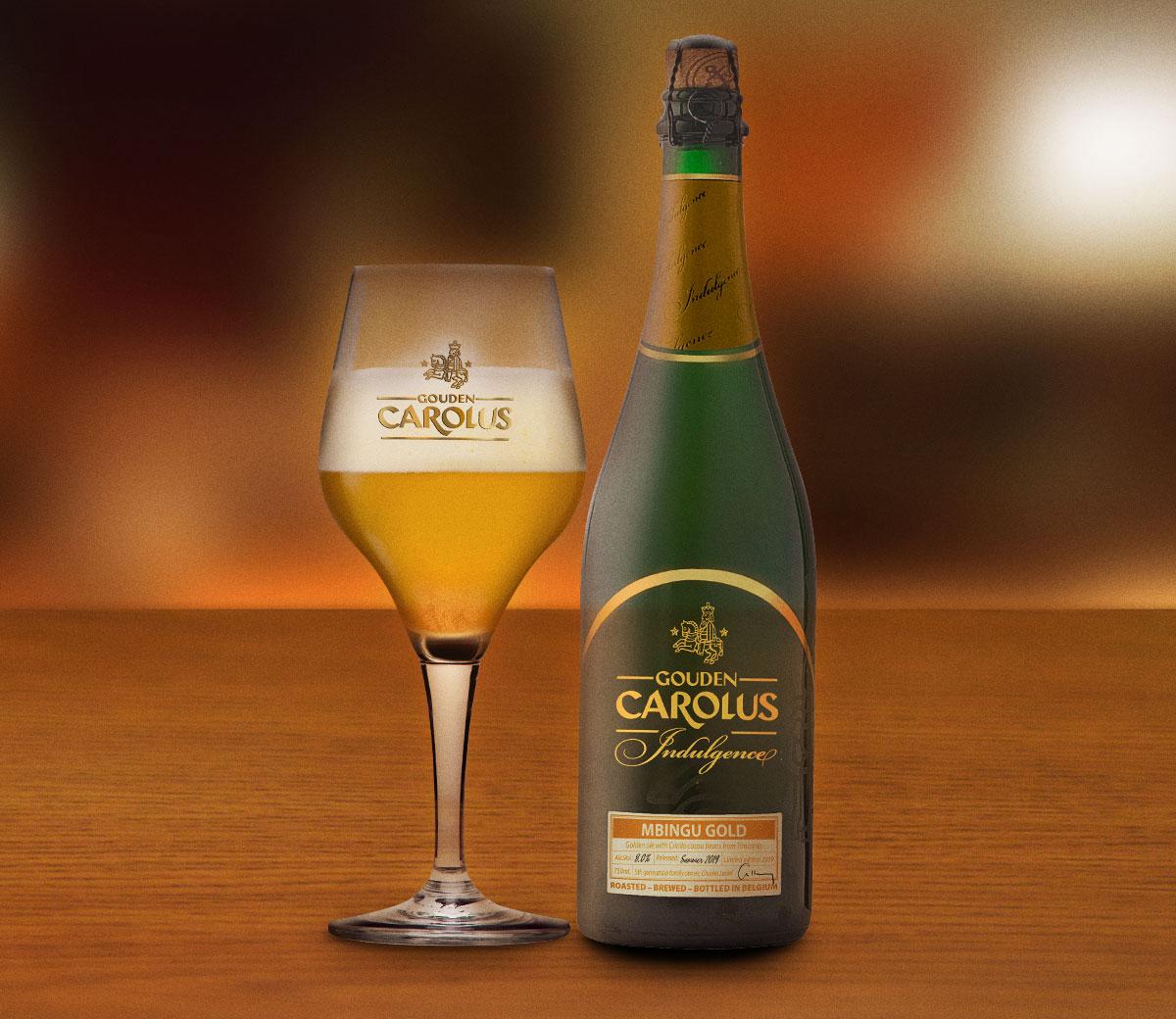 Gouden Carolus Indulgence 2019 – Mbingu Gold met glas