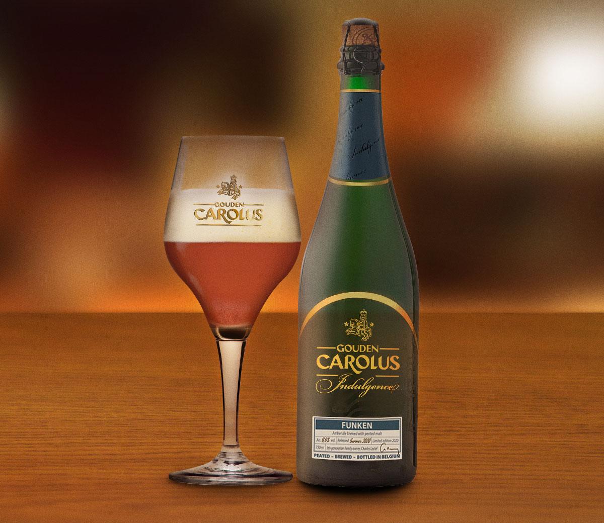Gouden Carolus Indulgence 2020 – Funken met glas